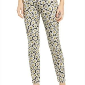 7 for all mankind daisy print high rise jeans